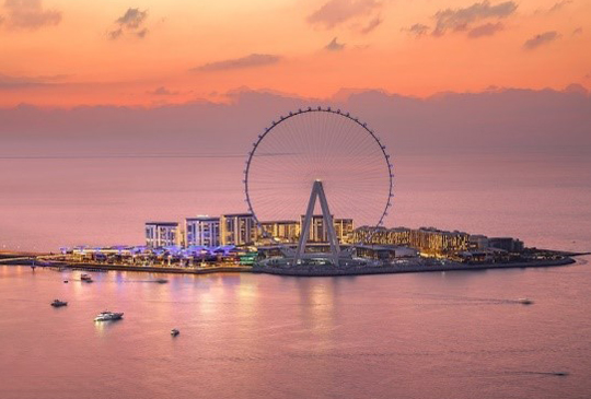 WORLD'S TALLEST AND LARGEST OBSERVATION WHEEL, AIN DUBAI, TO OPEN THIS OCTOBER
