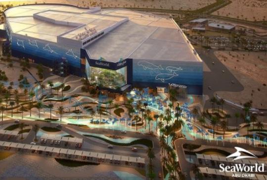 SEAWORLD ABU DHABI WILL BE HOME TO WORLD'S LARGEST AQUARIUM