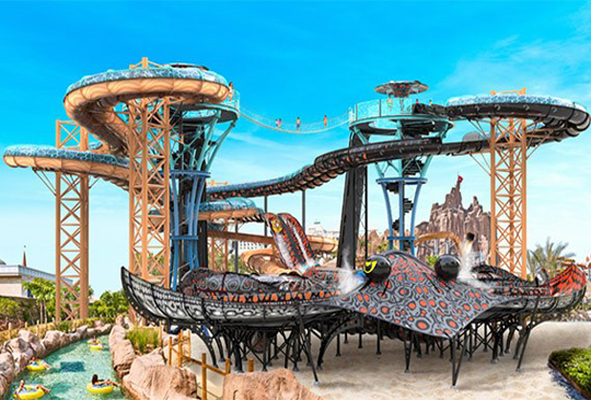 POLIN WATERPARKS INTRODUCES NEW STINGRAY WATERSLIDE WITH SOUND AND LIGHT SHOW