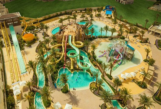 ABU DHABI'S EAGLE HILLS READY TO OPEN BIGGEST WATER PARK IN JORDAN