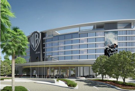 WORLD'S FIRST WARNER BROS. THEMED HOTEL TAKES SHAPE