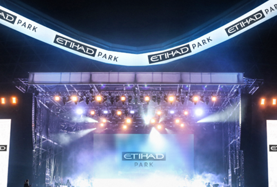 THE MIDDLE EAST'S LARGEST OUTDOOR VENUE IS NOW RENAMED ETIHAD PARK