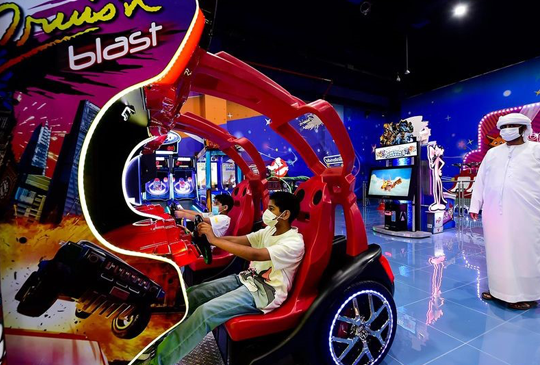 MAJID AL FUTTAIM EXPERIMENTS WITH A HYBRID VERSION MIXING CINEMAS WITH MAGIC PLANET