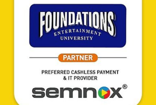 FOUNDATIONS ENTERTAINMENT UNIVERSITY CHOOSES SEMNOX AS THEIR PREFERRED CASHLESS PAYMENT AND IT PROVIDER