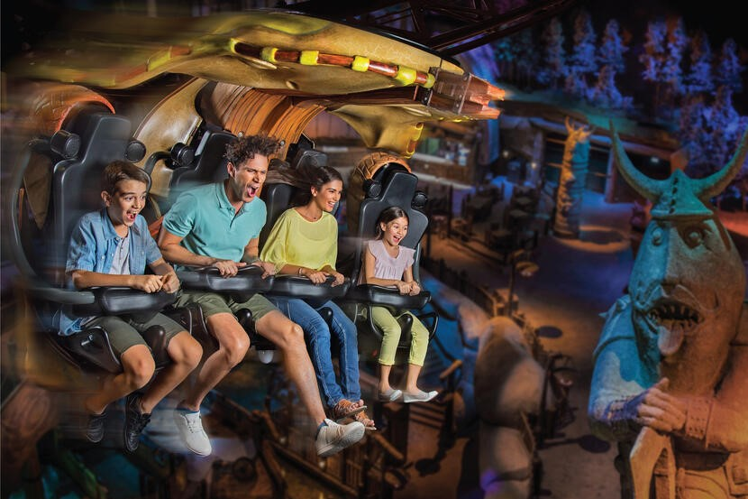 GROWING FAMILY RIDES AT UAE'S THEME PARKS